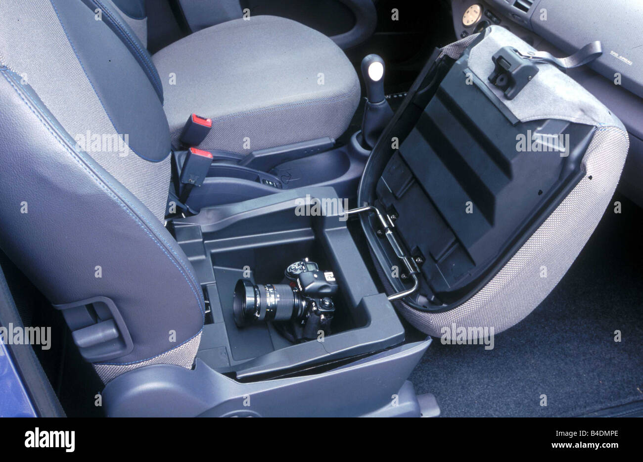 Car Nissan Micra Limousine Miniapprox S Model Year 2002 Blue Stock Photo Alamy