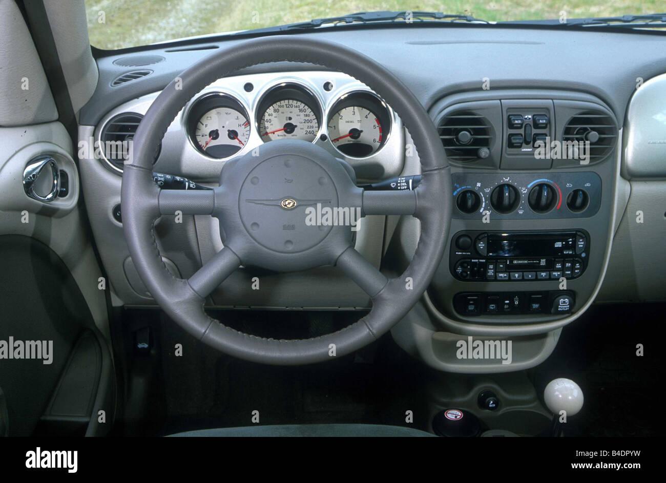 Car, Chrysler PT Cruiser 2.2 CRD, Van, Model Year 2000 , Silver