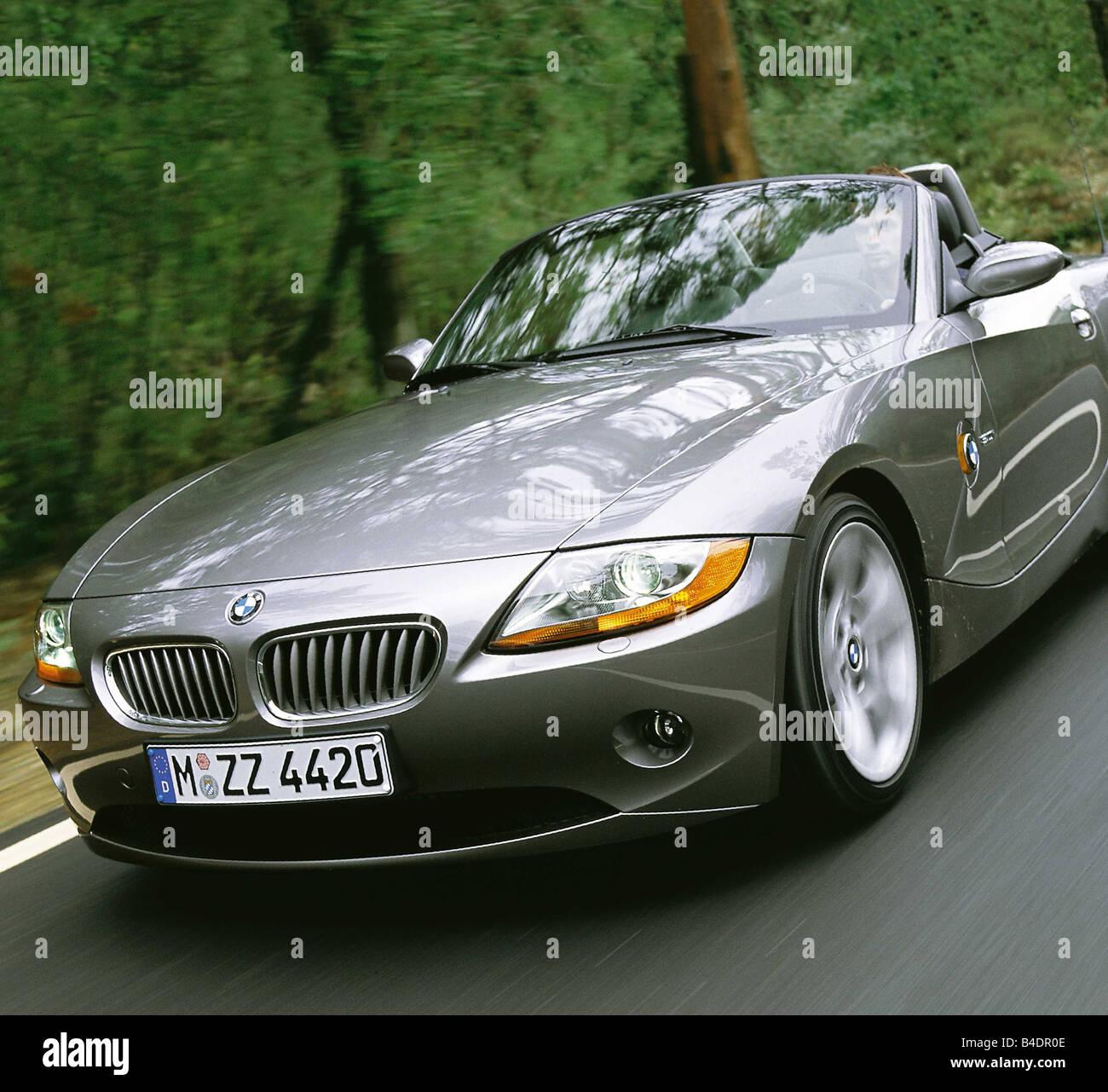 Bmw Year Models: Car Bmw Z4 Convertible Model Stock Photos & Car Bmw Z4