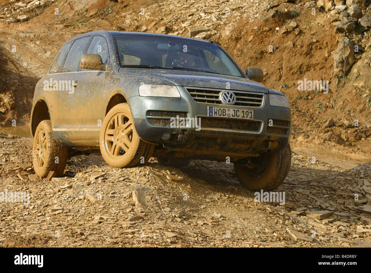 Car Vw Volkswagen Touareg V10 Tdi Cross Country Vehicle Model Year Stock Photo Alamy