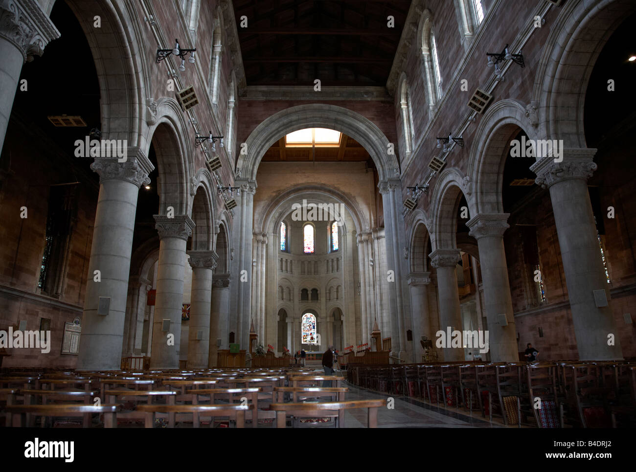 St Annes Cathedral belfast city centre northern ireland uk - Stock Image