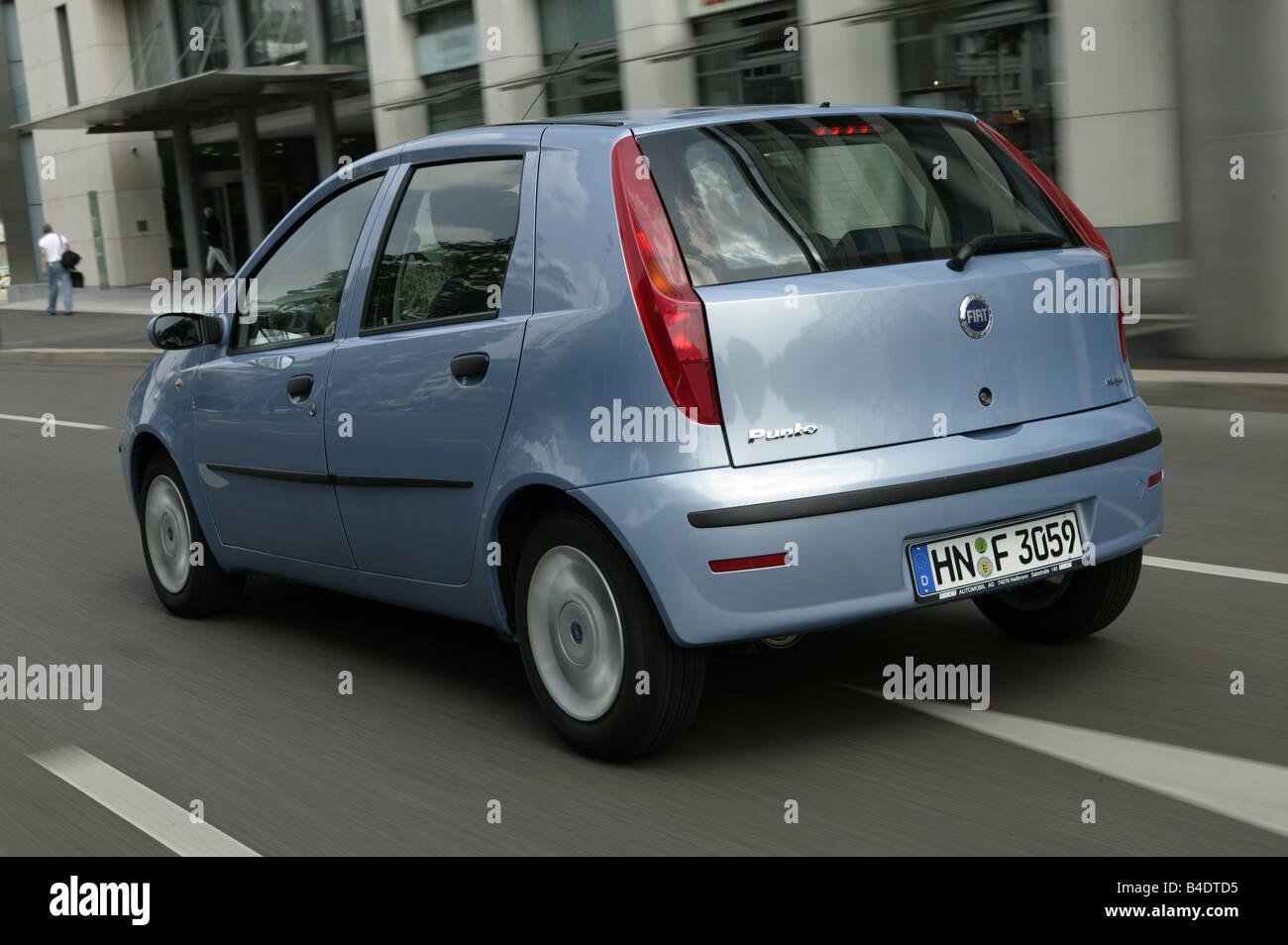 Car, Fiat Punto 1.3 JTD, small approx., Limousine, light Stock Photo