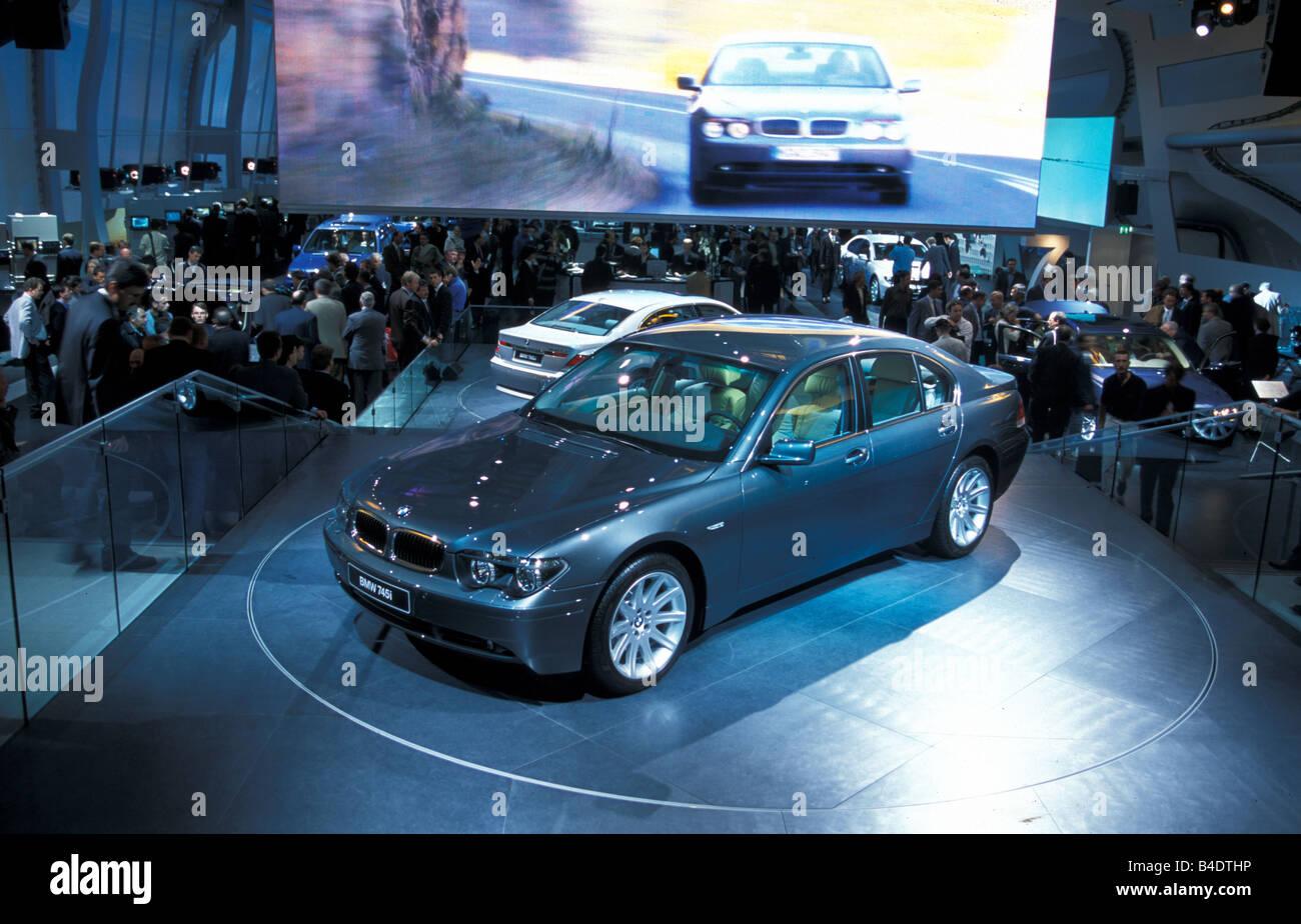 Car, IAA 1999, Frankfurt, Exhibition  BMW - Stock Image
