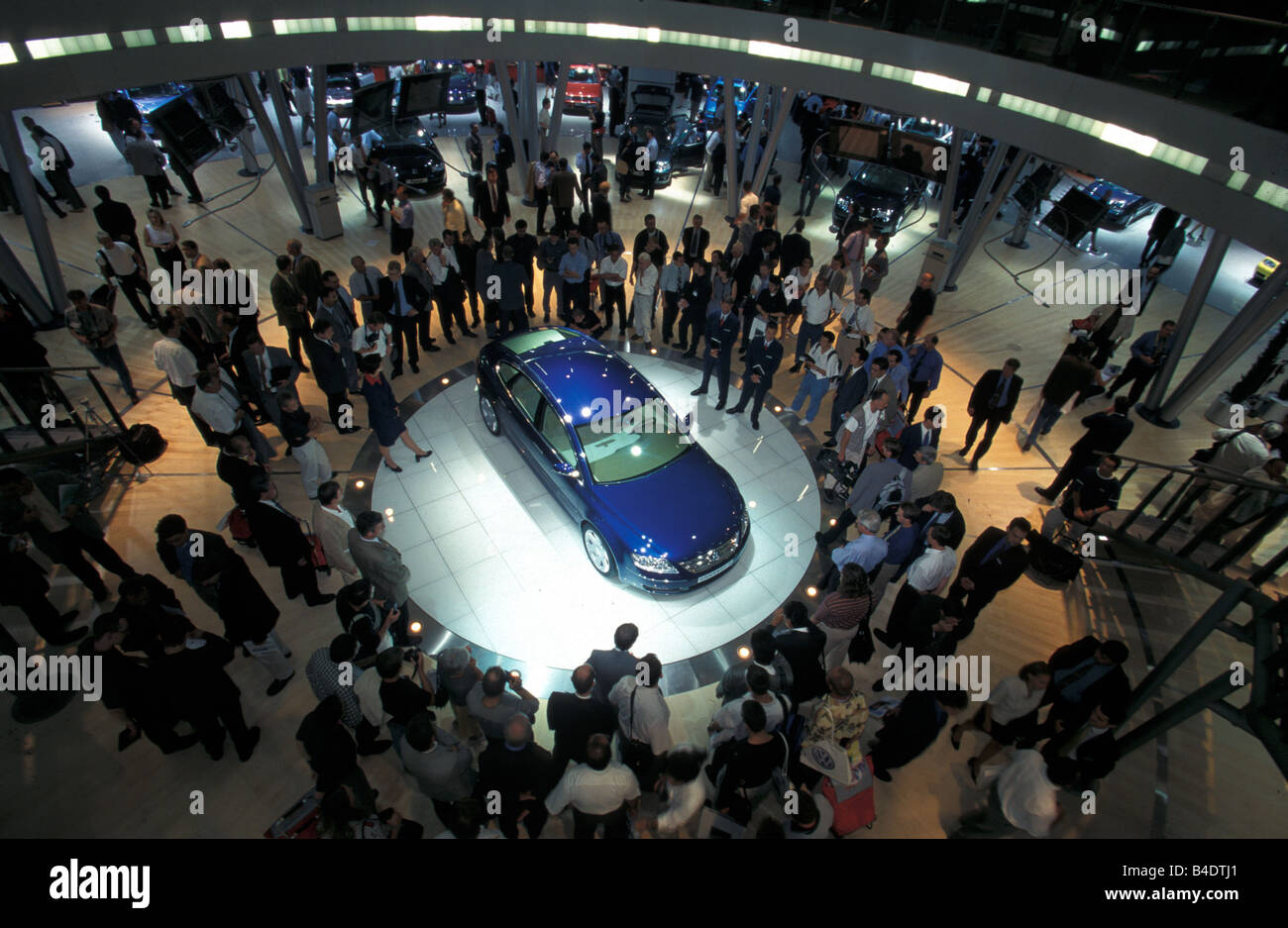 Car, IAA 1999, Frankfurt, Exhibition VW Volkswagen Volkswagen Stock Photo