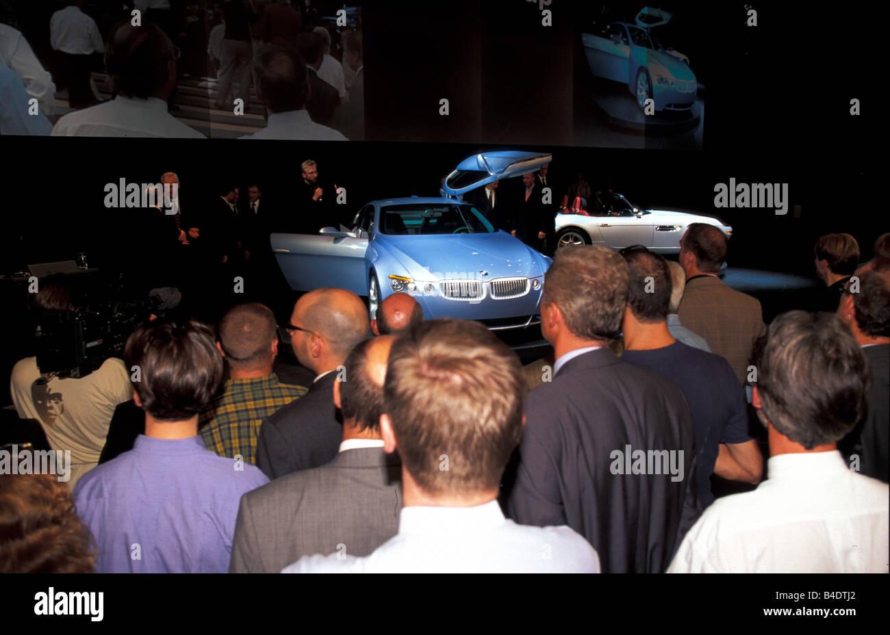 Car, IAA 1999, Frankfurt, booth BMW, Sensation BMW Z9 - Stock Image