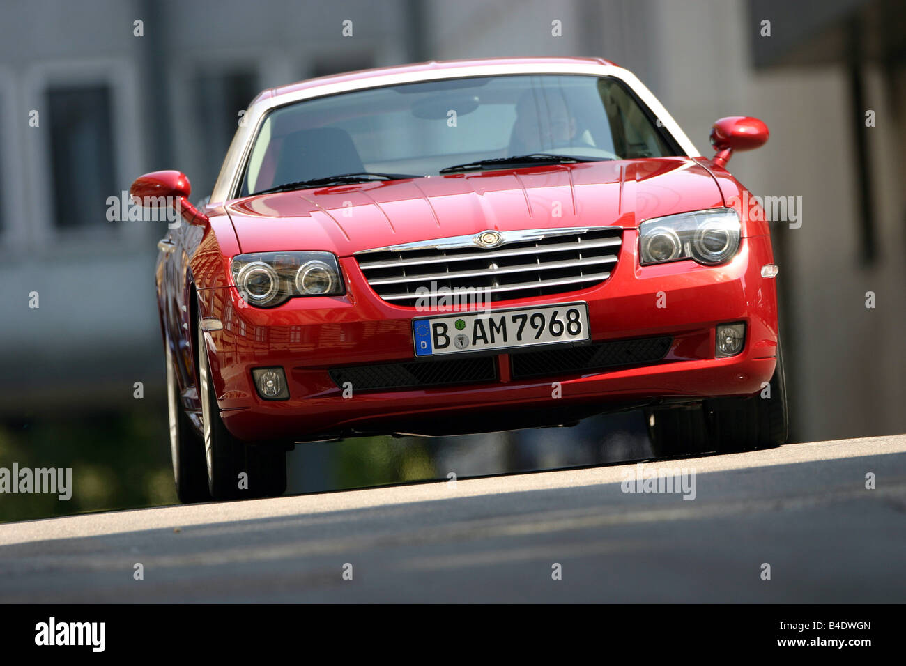 in spotted crossfire chrysler moscow cars