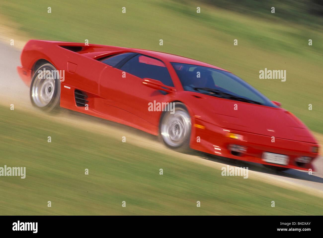 Car Lamborghini Diablo Vt Coupe Coupe Roadster Red Model Year