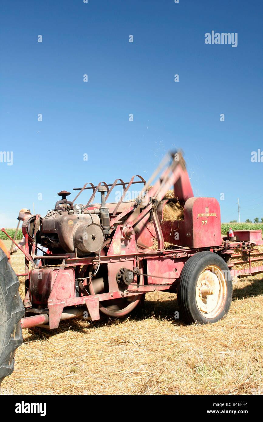 Hay Baler Stock Photos & Hay Baler Stock Images - Alamy