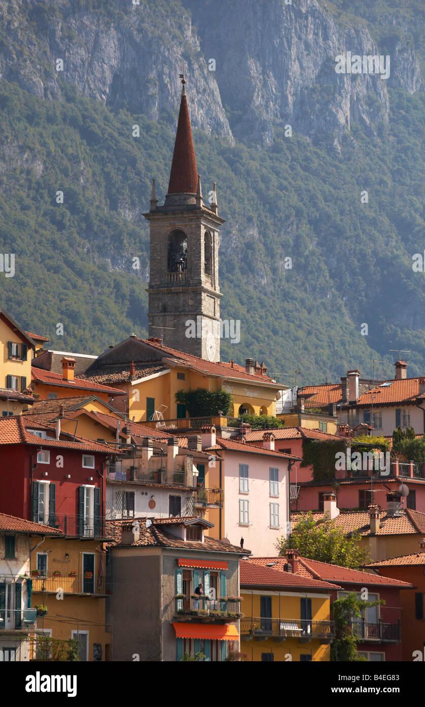 Varenna Lake Como Lombardy Italy - Stock Image