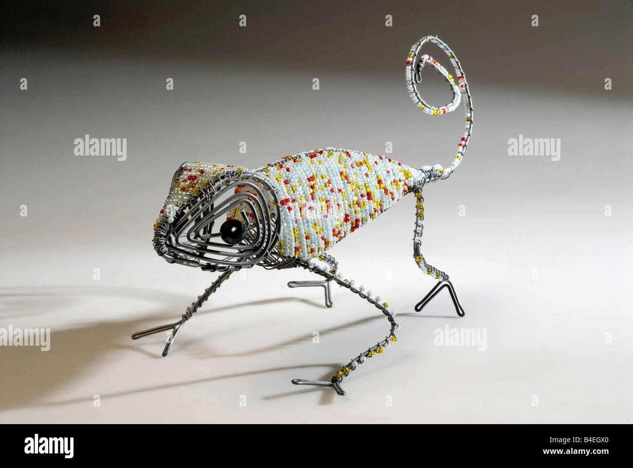 African Bead and wire frame sculptures of animals Cape Town South ...