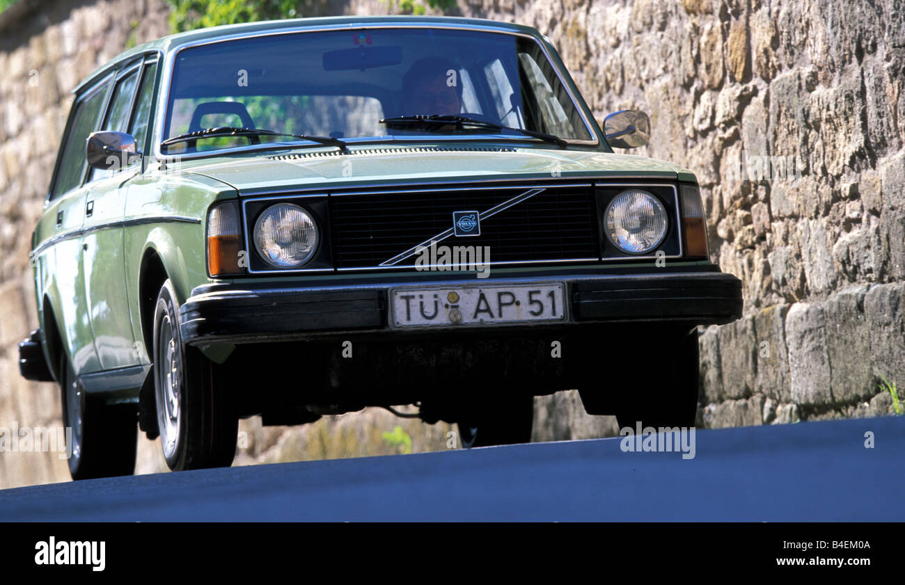 Car Volvo 245 Dl Wagon Model Year 1976 Old Car 1970s Seventies Stock Photo Alamy