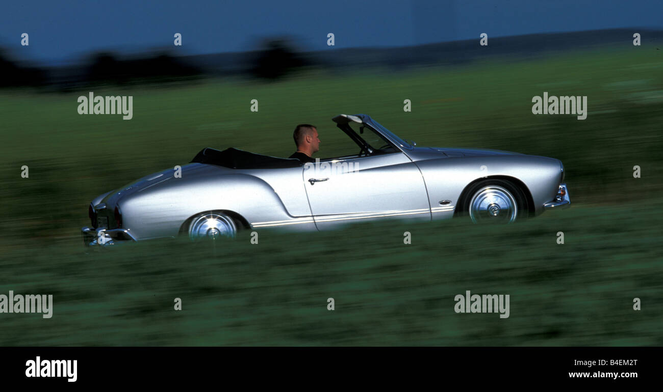 Car Vw Volkswagen Karmann Ghia Convertible Model Year 1967 Stock Photo Alamy