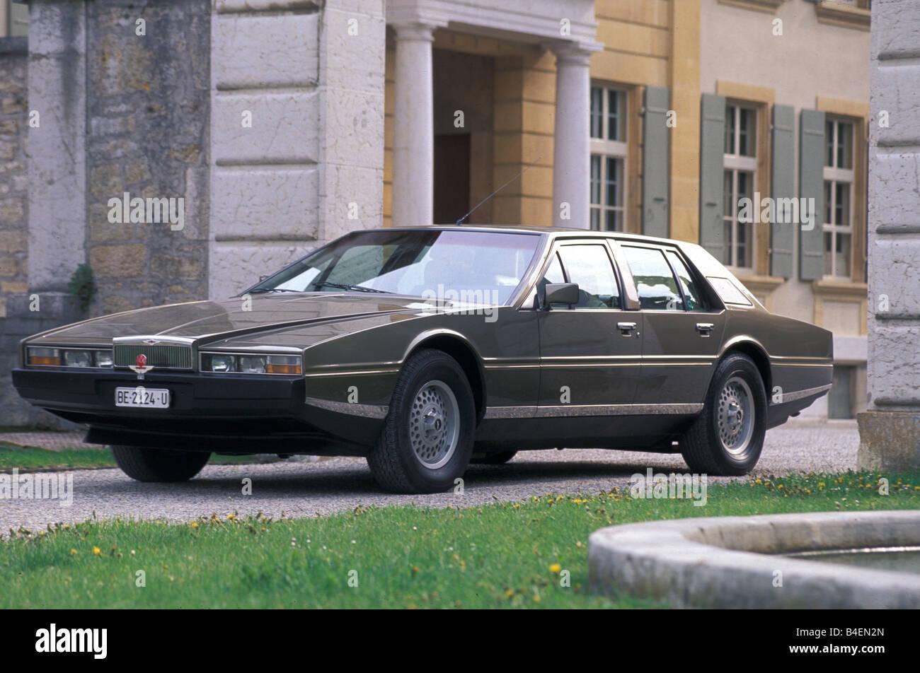Car Aston Martin Lagonda Model Year 1978 1989 Old Car 1970s