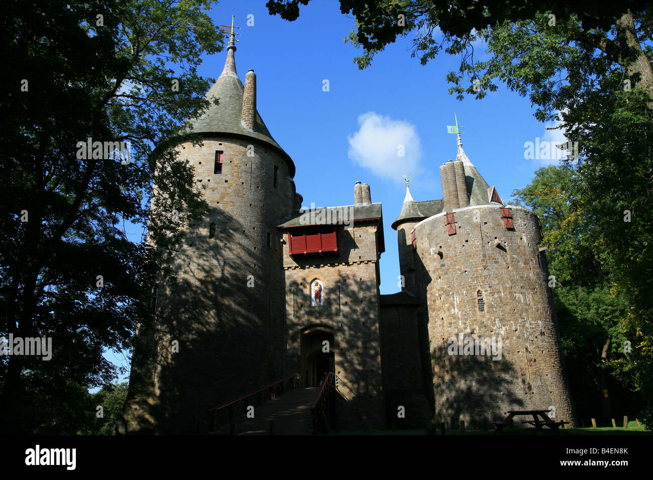 Castell Coch - Stock Image