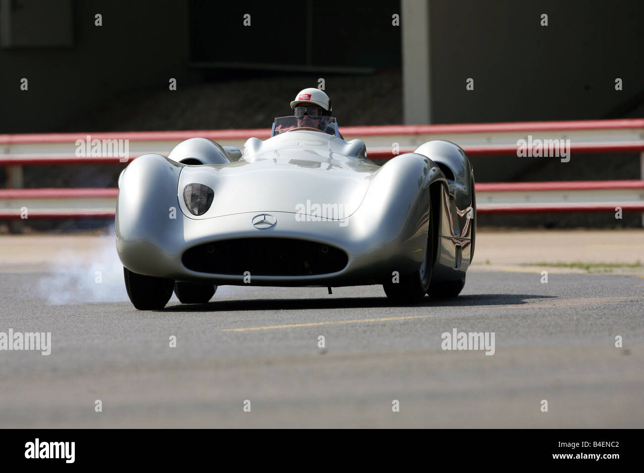 Car, Mercedes W 196 Stromlinie, Model Year 1954, Vintage Car, Racing Car,  Silver, Vintage Car, 1950s, Fifties, Racing, Motor Spo