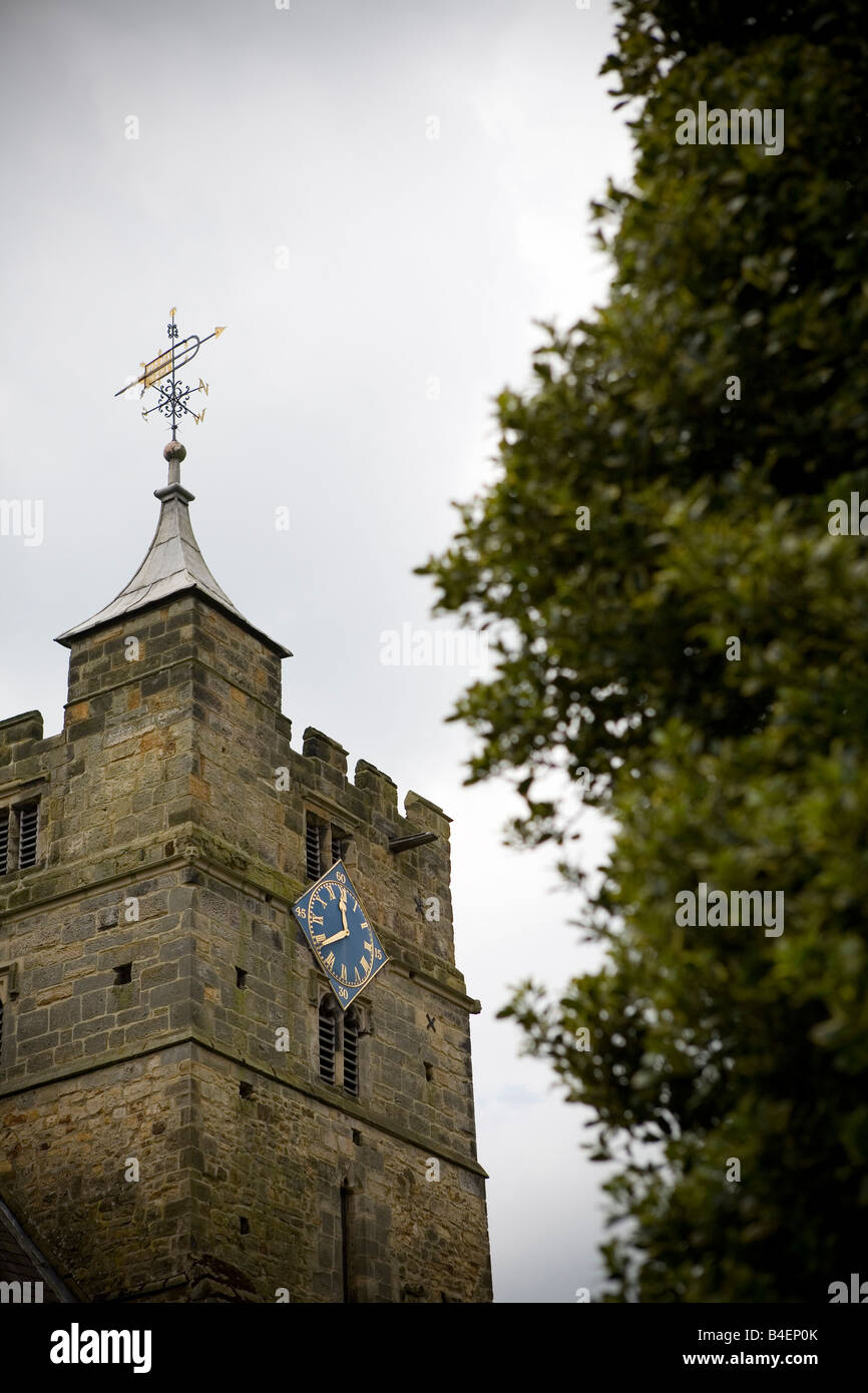 Brenchley All Saints Church, Kent, England - Stock Image