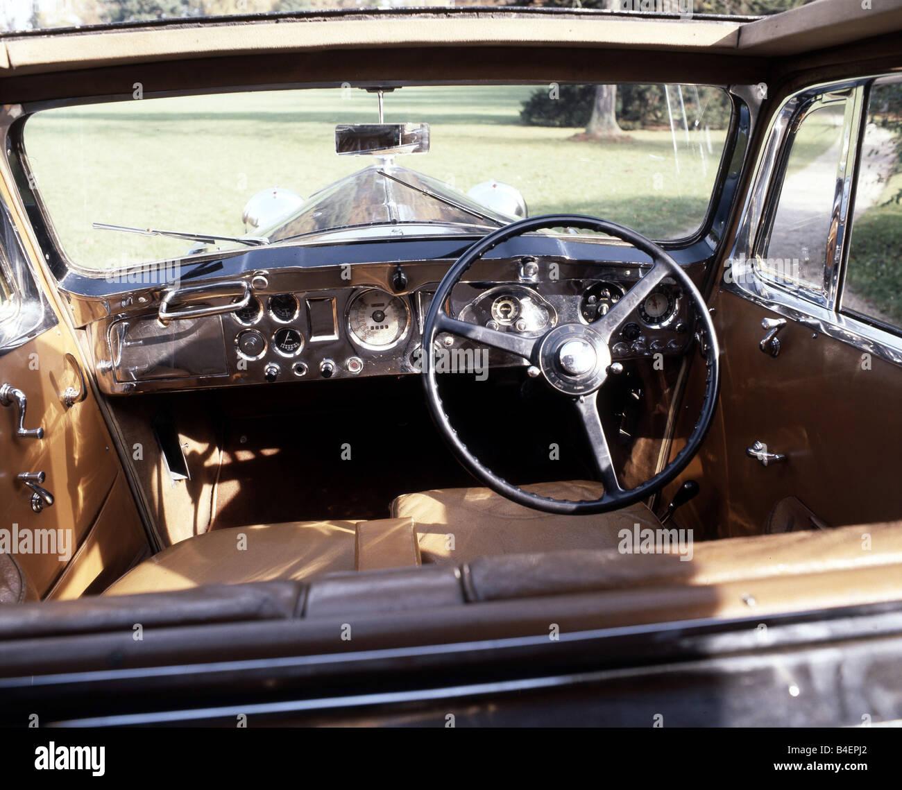 Car, Rolls Royce Phantom III, Model Year 1936 1939, Black ...