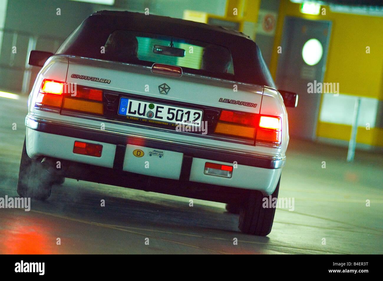 Car Chrysler Lebaron Convertible Model Stock Photos & Car Chrysler ...
