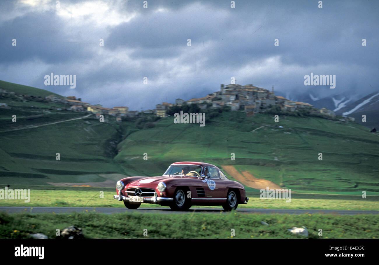 Car, Mille Miglia 1996, events, event, race, vintage car - Stock Image