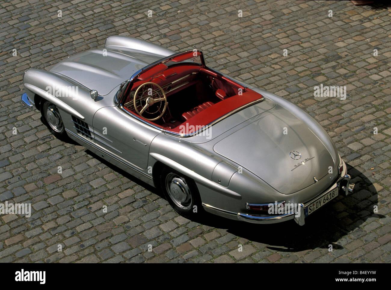 Stock Photo Car Mercedes 300 Sl Roadster Vintage Car Model Year 1957 1963 1950s 19998269