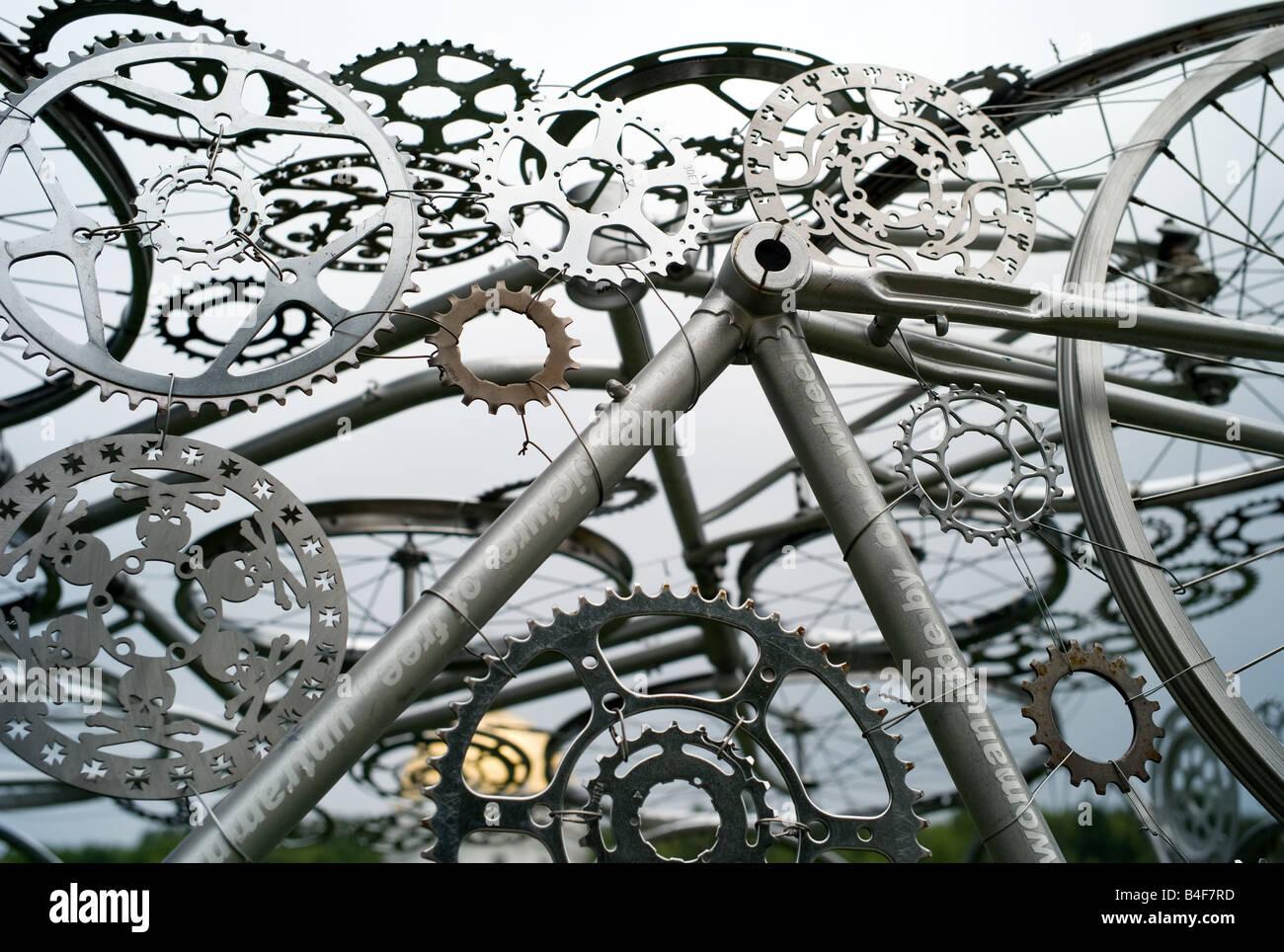 Bike Art Stock Photos Bike Art Stock Images Alamy
