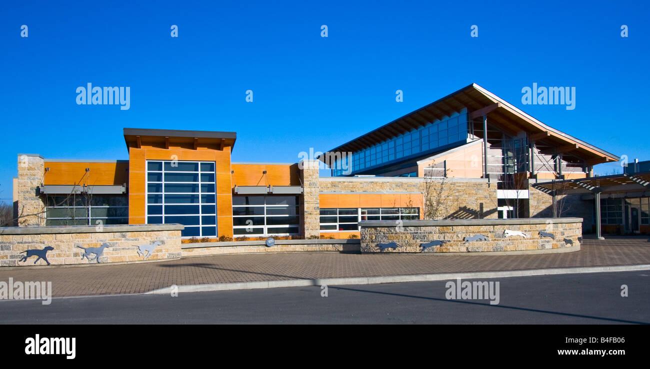Winnipeg Humane Society, animal shelter, Winnipeg, Manitoba, Canada. - Stock Image