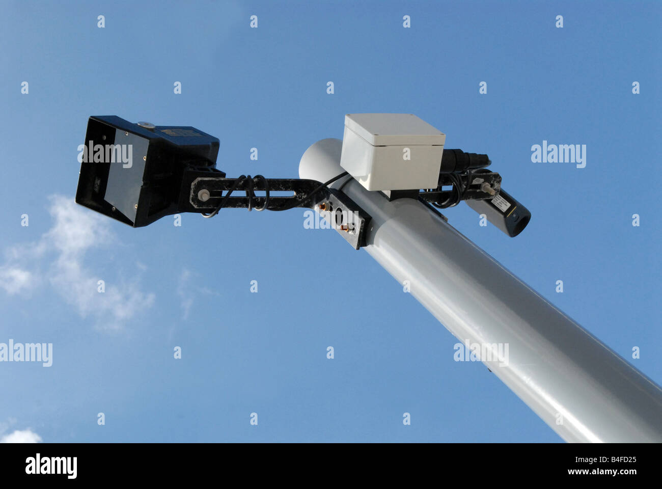CCTV Closed Circuit Television, Surveillance - Stock Image