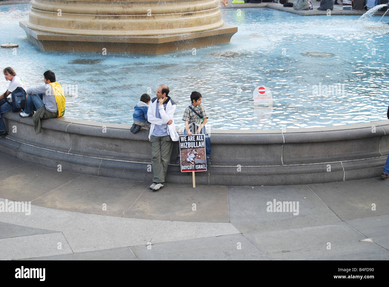 Hizbullah Trafalgar square Al Quds day - Stock Image