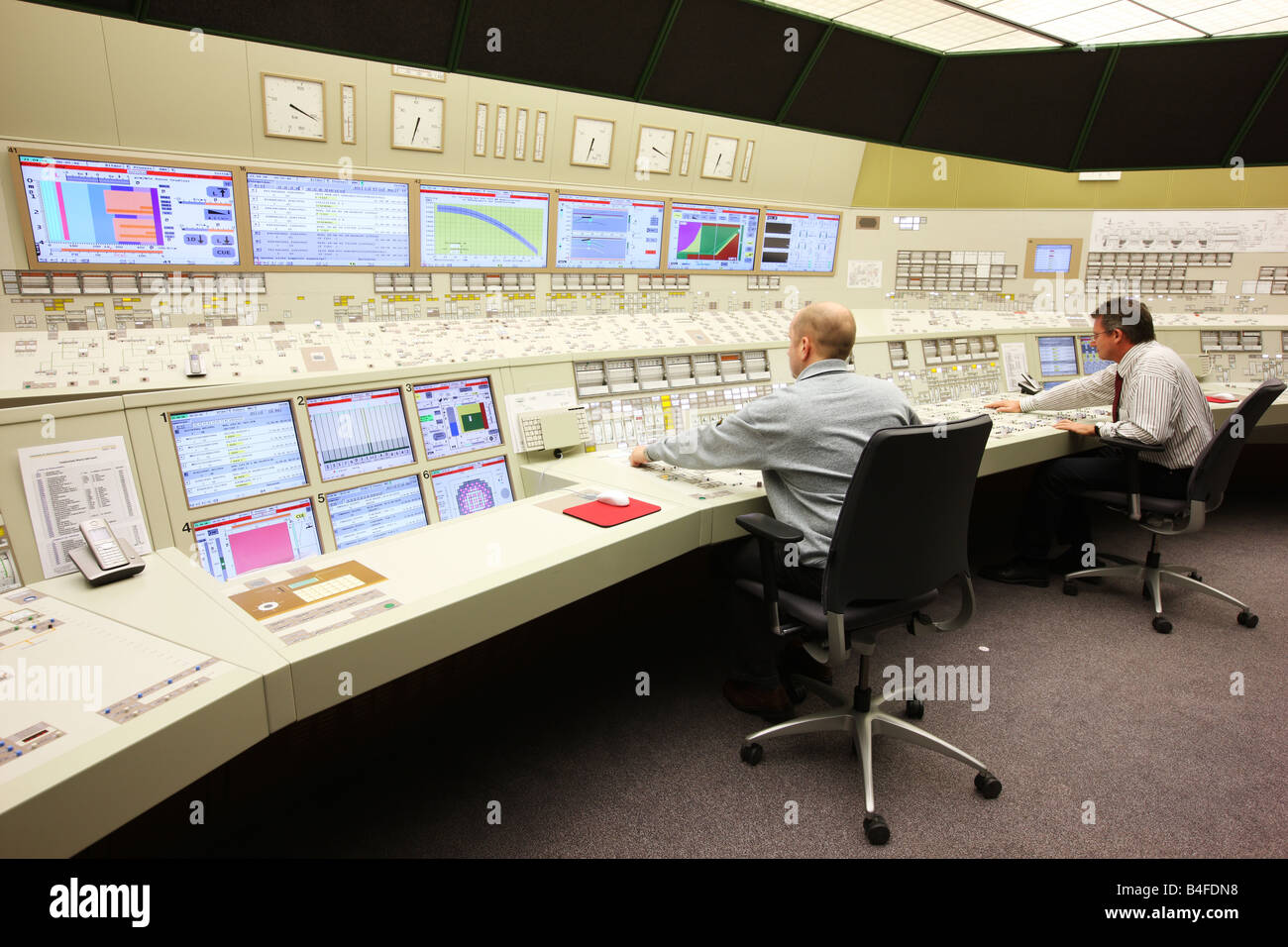 DEU Germany Essen GfS KSG Simulator centre for nuclear power plants Stock Photo