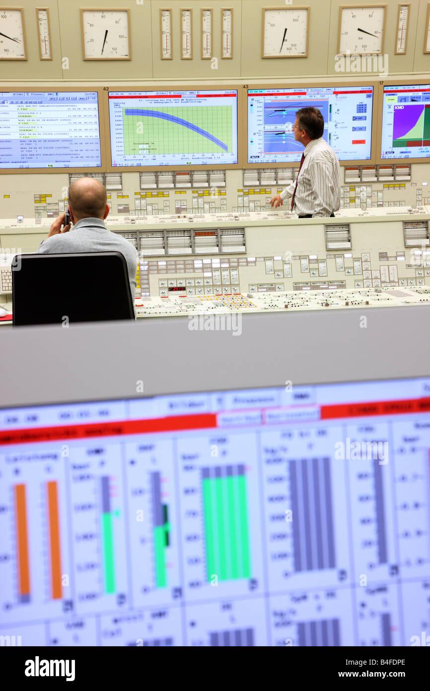 DEU Germany Essen GfS KSG Simulator centre for nuclear power plants - Stock Image
