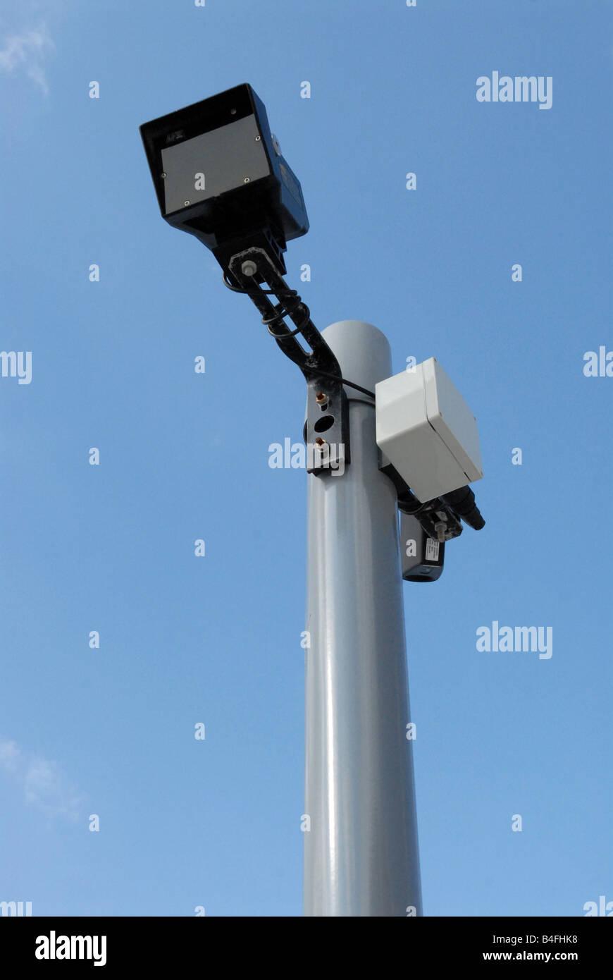 CCTV Closed Circuit Television Surveillance - Stock Image