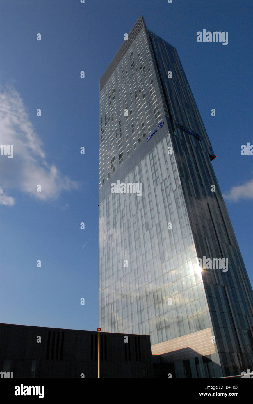 Beetham Tower, Manchester - Stock Image