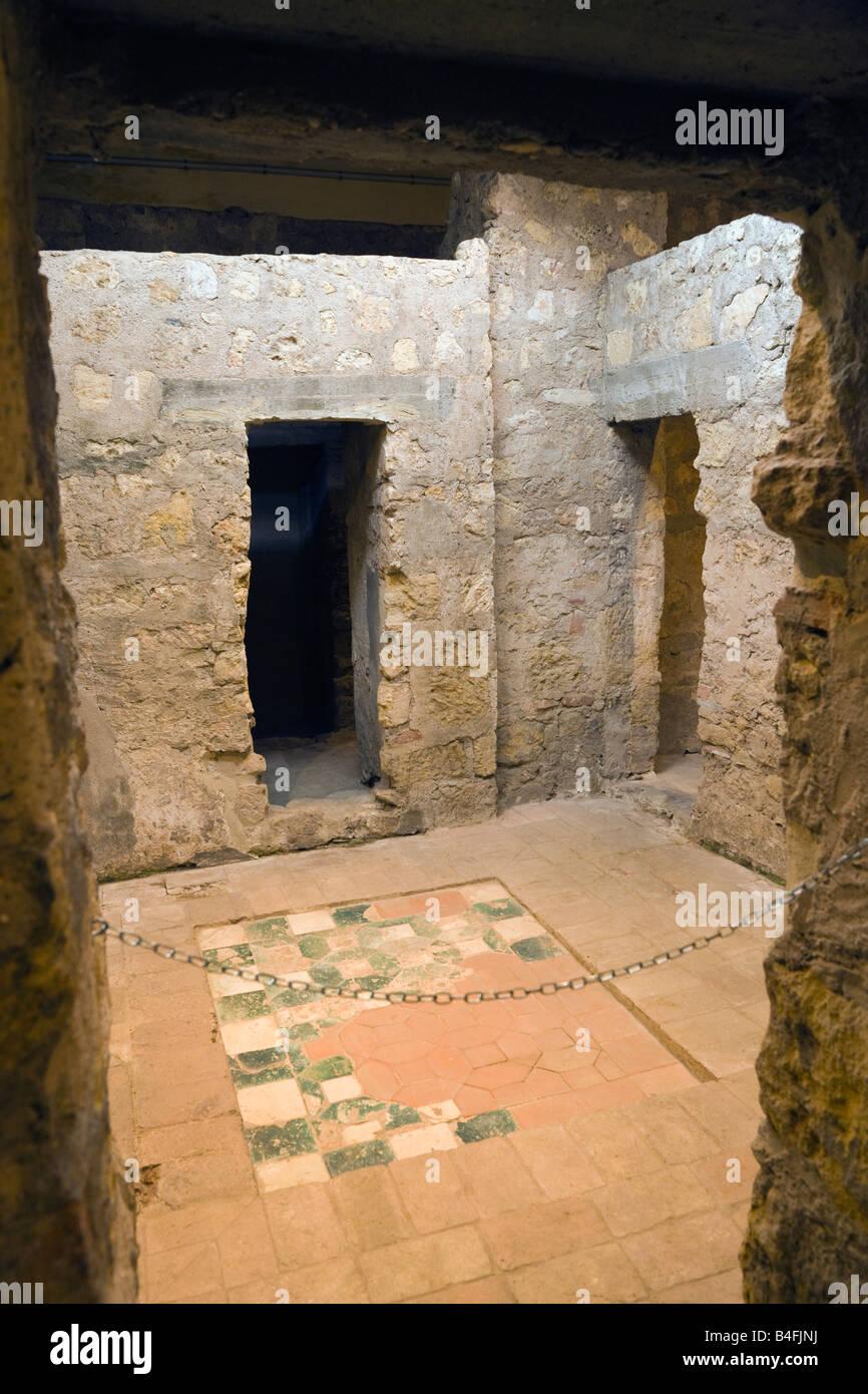 Cordoba Cordoba Province Spain Baños del Alcazar Califal Arab baths of the Caliphate of Cordoba Stock Photo