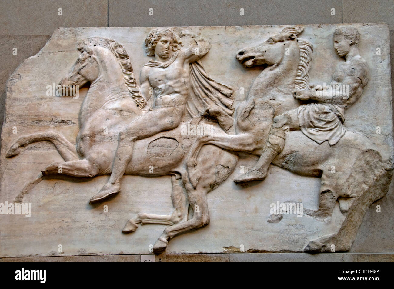greek elgin marbles from the temple parthenon acropolis in athens