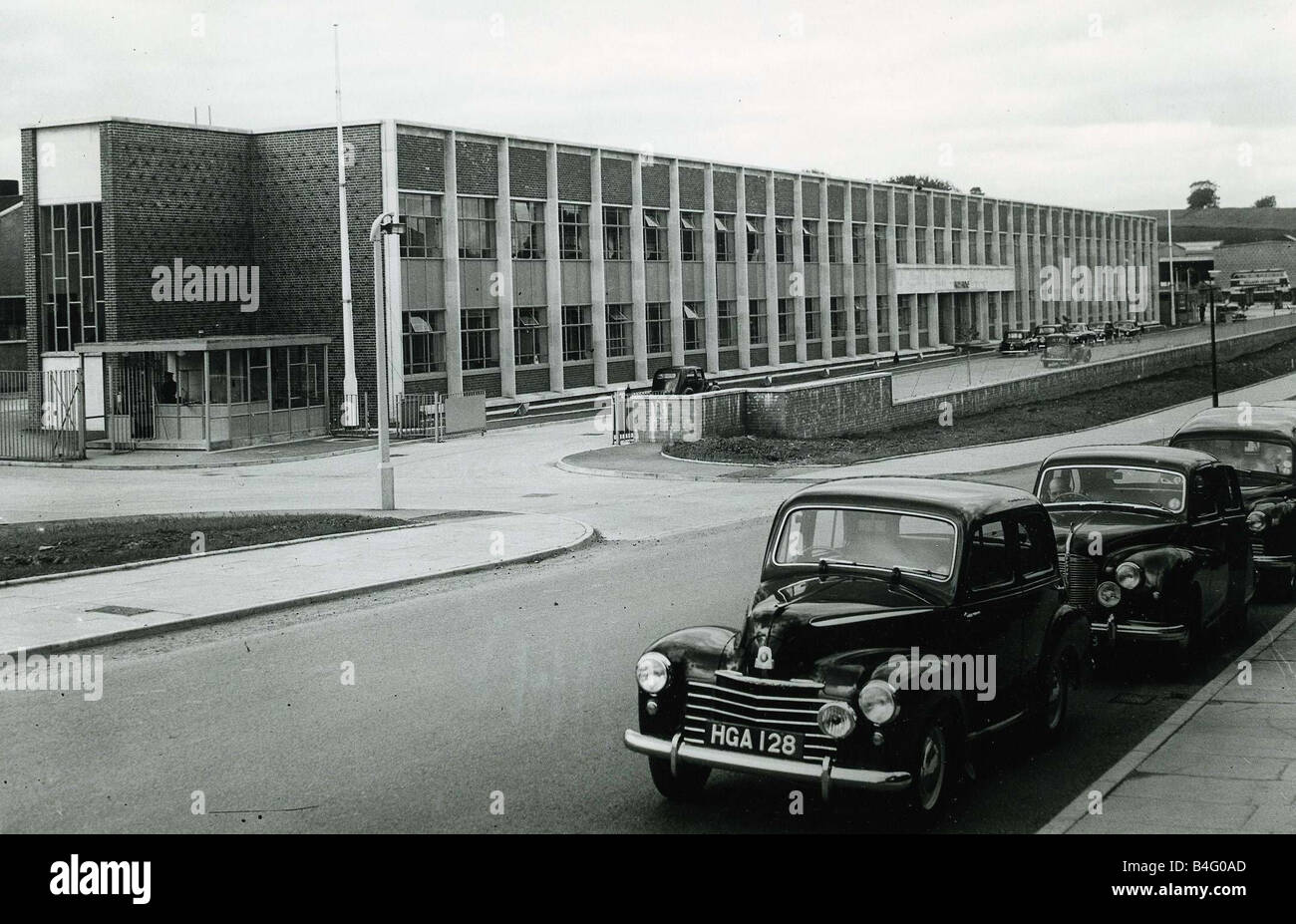 General view of the new Rolls Royce factory in East Kilbride Scotland June 1954 - Stock Image