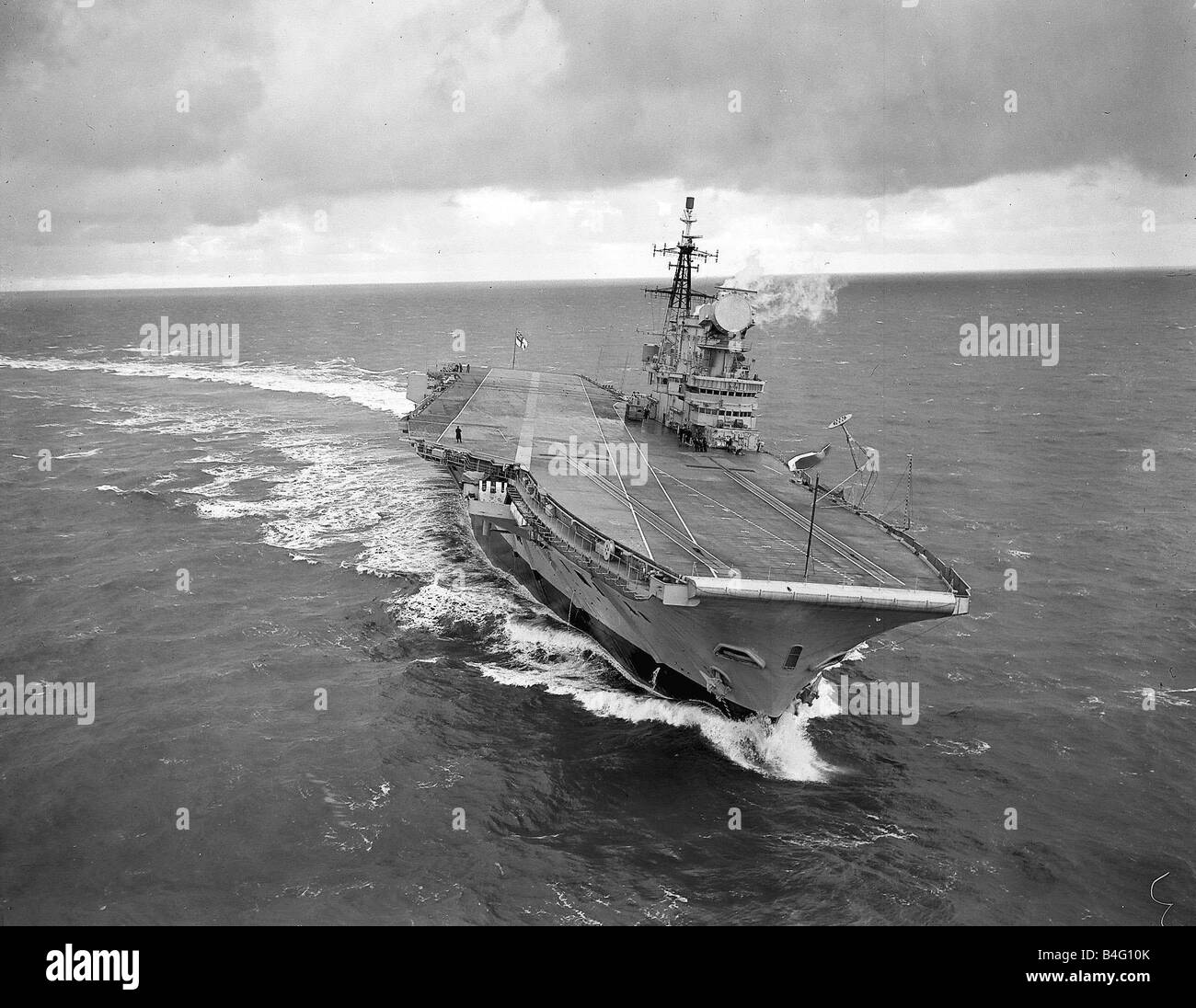 The Aircraft Carrier Hms Hermes Stock Photos & The Aircraft