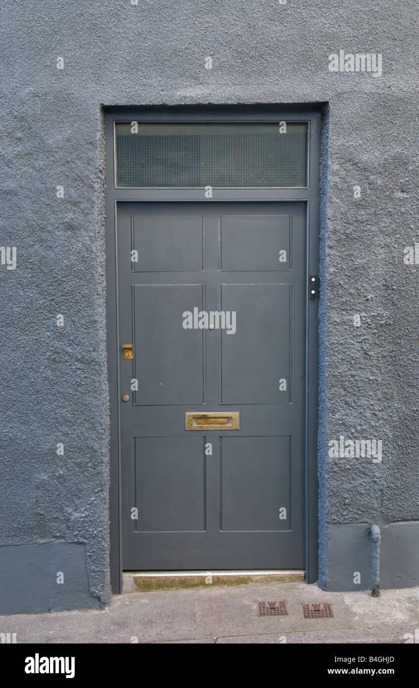 Grey Front Door Stock Photos Grey Front Door Stock Images Alamy