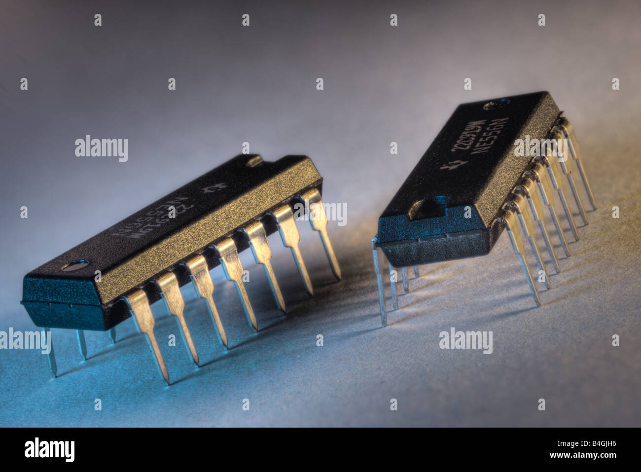 IC chips - Stock Image