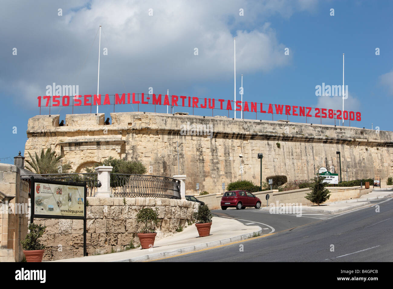 Vittoriosa Fort and Armoury, Malta - Stock Image