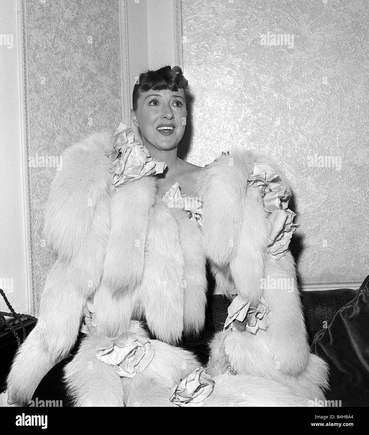 actress gypsy rose lee in london october 1957 stock photo 20051084