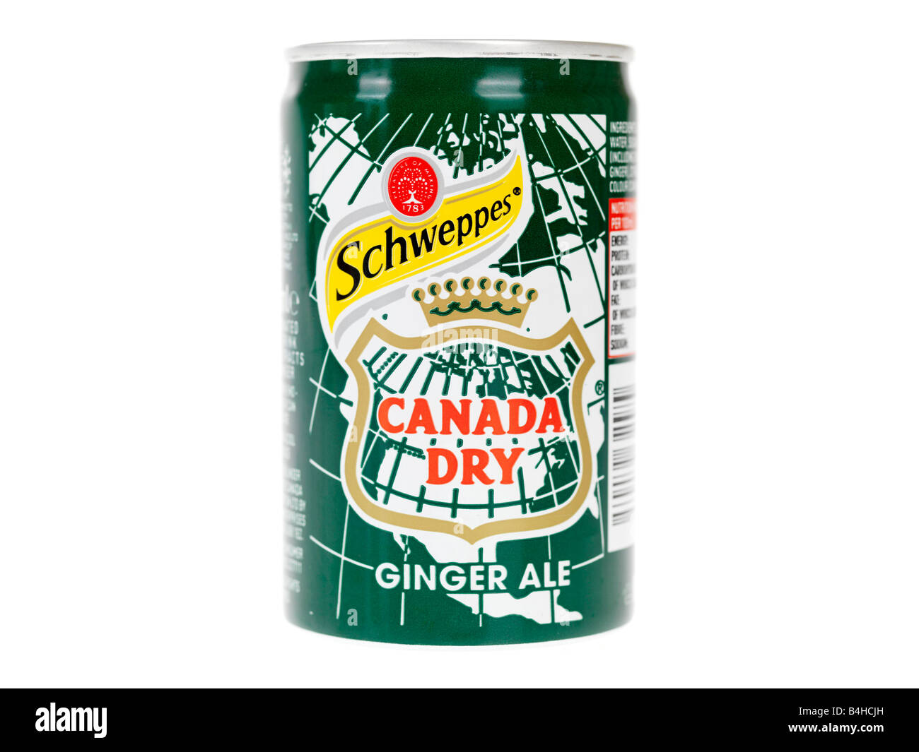 Can of Ginger Ale - Stock Image