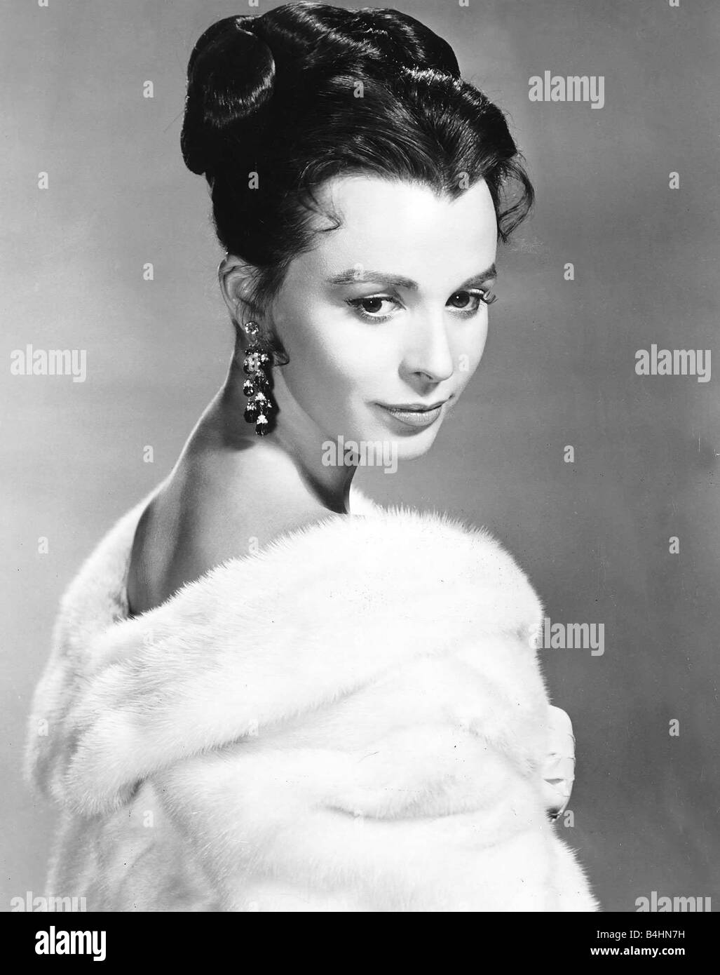 Claire Bloom Actress who starred as Katya in MGMs The Brothers Karamazov Dbase - Stock Image