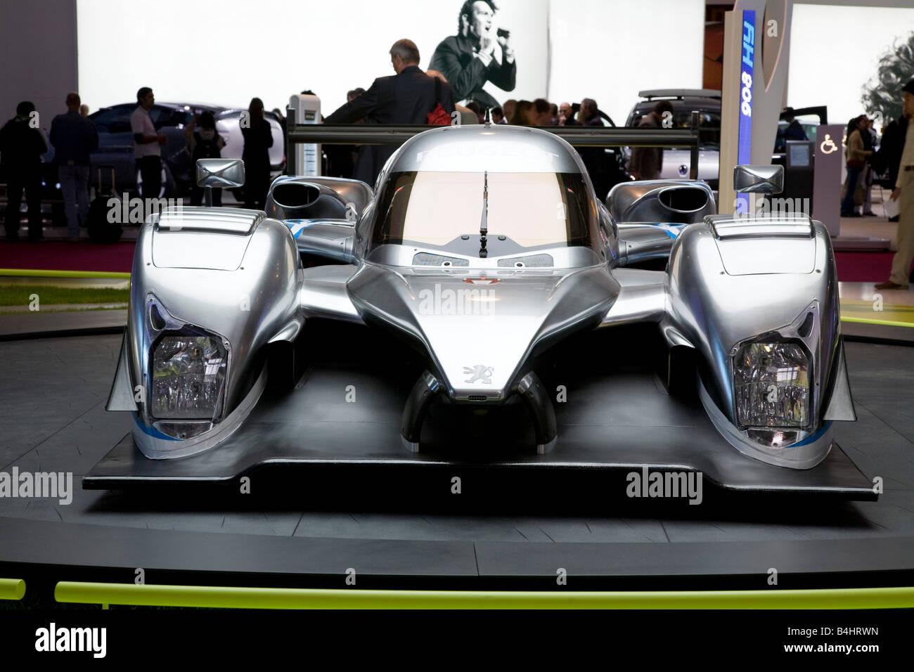 Peugeot Racer. The Mondial de l'Automobile. - Stock Image