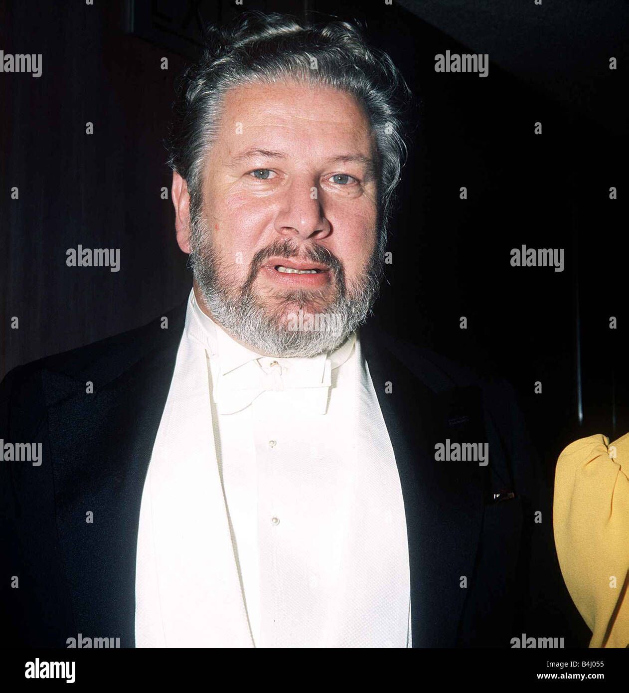 Actor and raconteur Peter Ustinov at the Premiere of Mary Queen Of Scots March 1972 dbase MSI - Stock Image