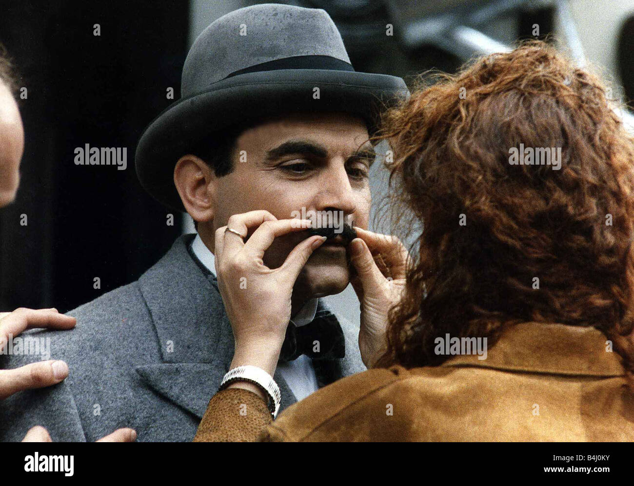 David Suchet the actor from Poirot in November 1989 - Stock Image