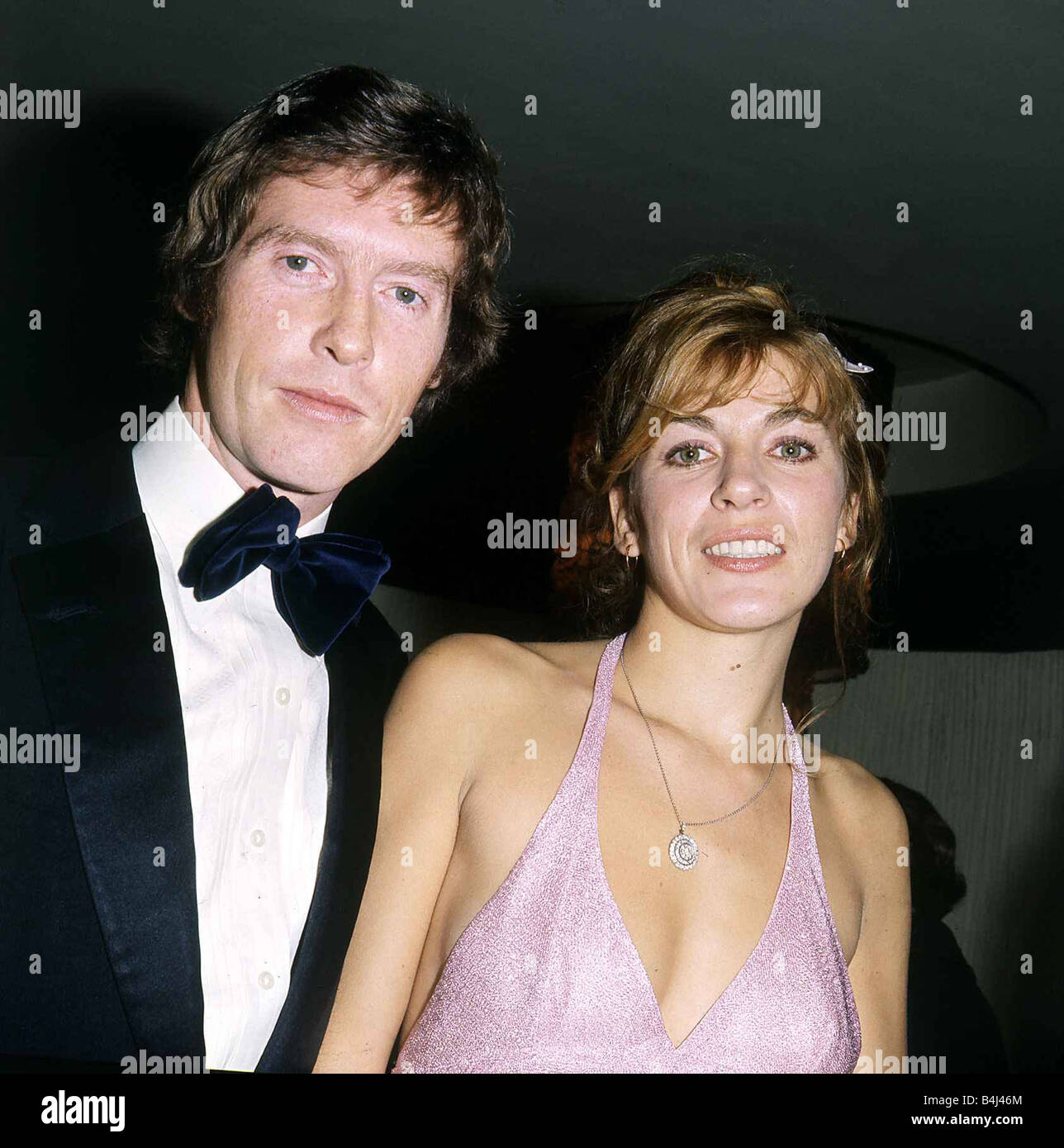 Michael Crawford Actor December 1972 With his wife at the Premiere of Alices Adventures in Wonderland Dbase MSI - Stock Image