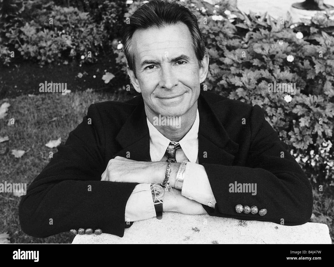 Anthony Perkins Actor in London October 1986 DBase MSI - Stock Image
