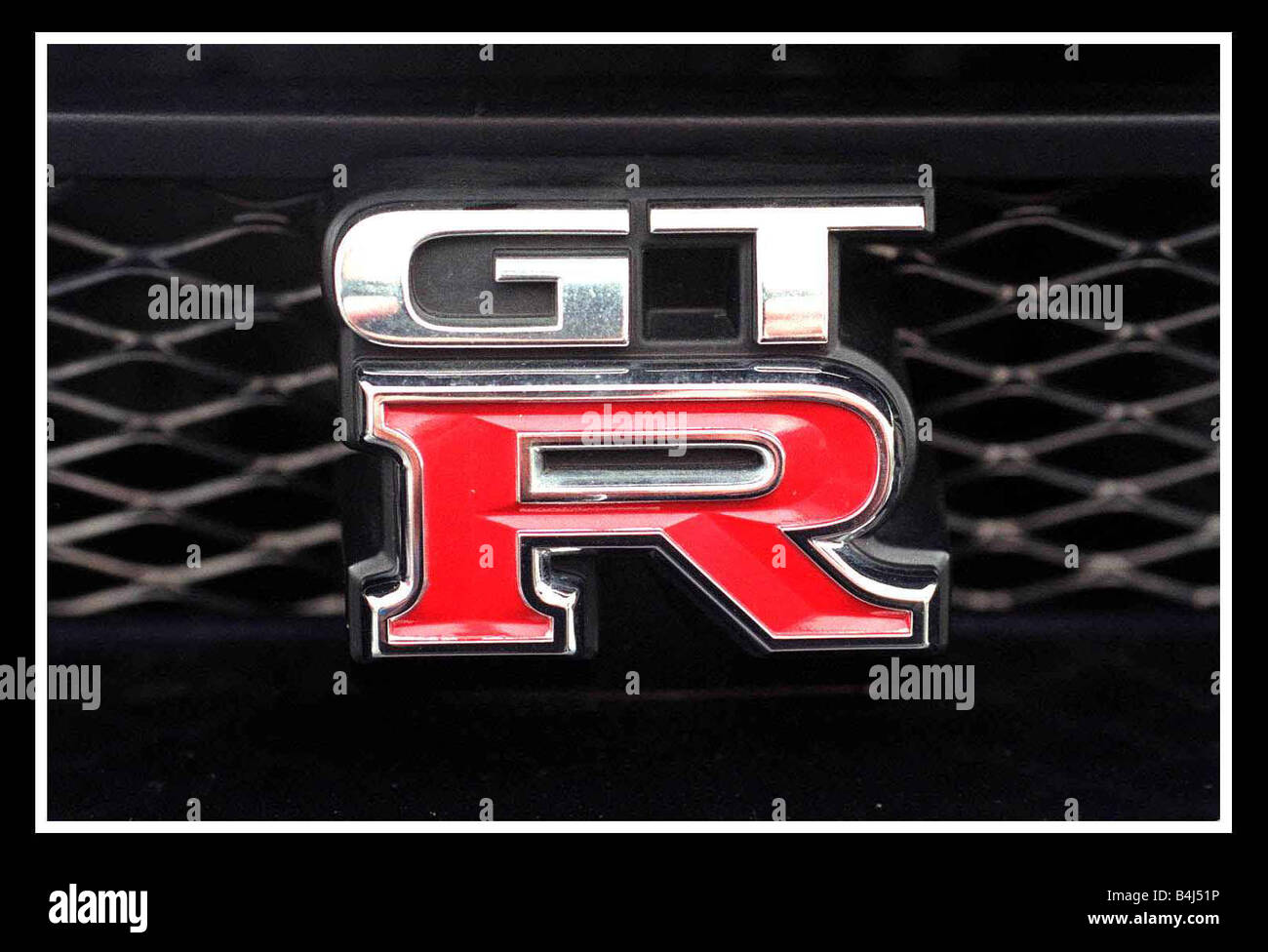 nissan skyline gtr car logo april 2000 stock photo 20068098 alamy