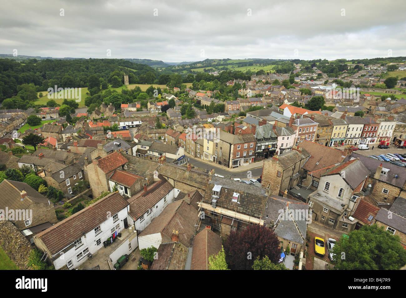 Richmond, Yorkshire. - Stock Image