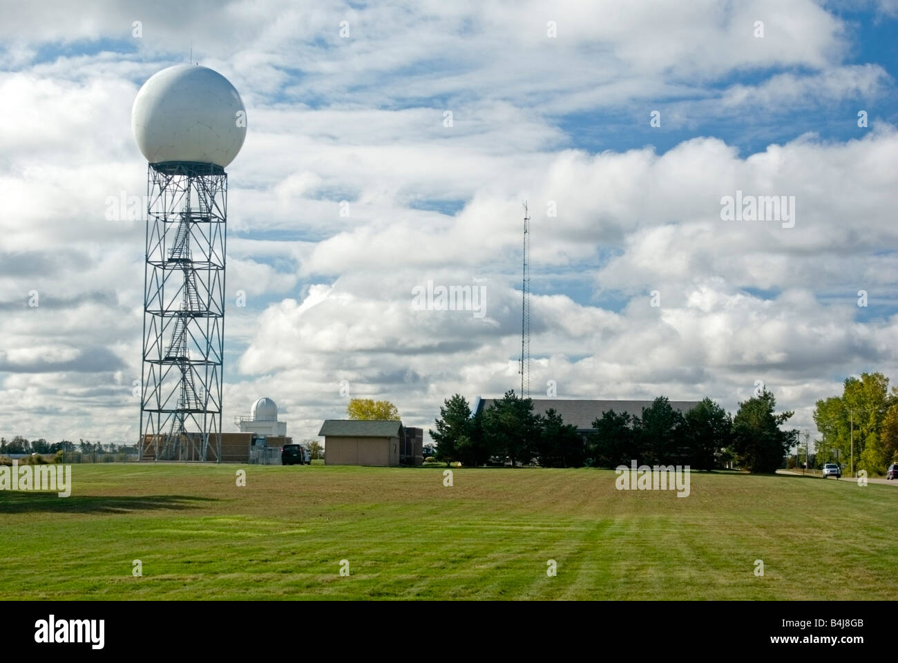 Weather Radar Antenna Stock Photos & Weather Radar Antenna Stock